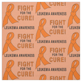 Leukemia: Fight for a Cure! Fabric