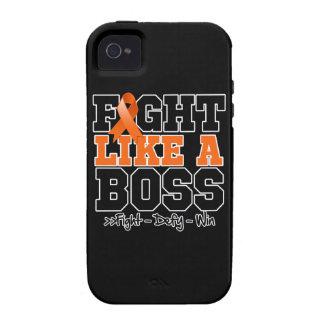 Leukemia Fight Like a Boss iPhone 4 Cover
