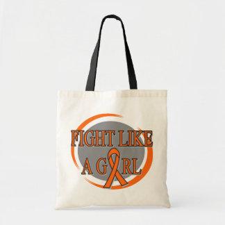 Leukemia Fight Like A Girl Circular Bag