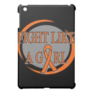 Leukemia Fight Like A Girl Circular iPad Mini Covers
