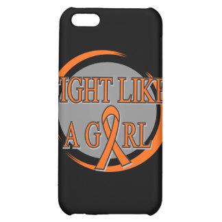 Leukemia Fight Like A Girl Circular iPhone 5C Case