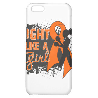 Leukemia Fight Like A Girl Grunge Case For iPhone 5C
