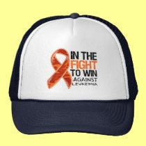 Leukemia - Fight To Win Hats