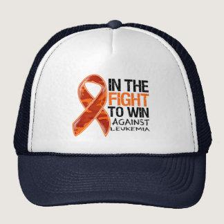 Leukemia - Fight To Win Trucker Hat