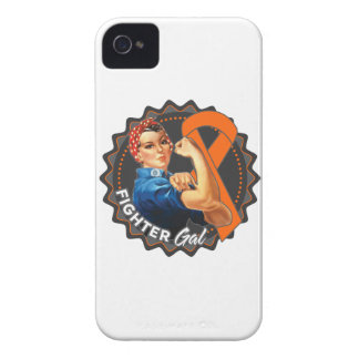 Leukemia Fighter Gal iPhone 4 Covers