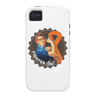 Leukemia Fighter Gal Vibe iPhone 4 Cases