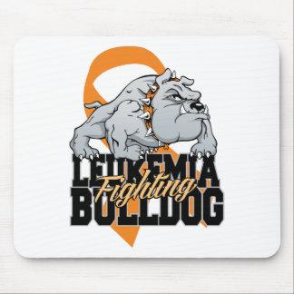 Leukemia Fighting Bulldog Mouse Pad