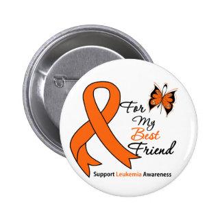 Leukemia -  For My Best Friend Pinback Button