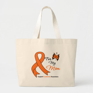 Leukemia - For My Mom Tote Bags