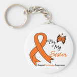 Leukemia - For My Sister Key Chain