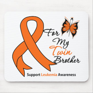 Leukemia - For My Twin Brother Mouse Pad