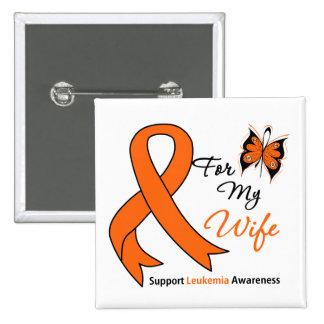 Leukemia - For My Wife Pin