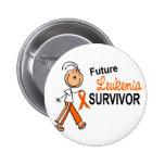 Leukemia Future Survivor SFT Button