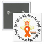 Leukemia God Made My Hero An Angel Buttons
