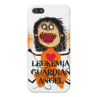 Leukemia Guardian Angel iPhone SE/5/5s Cover