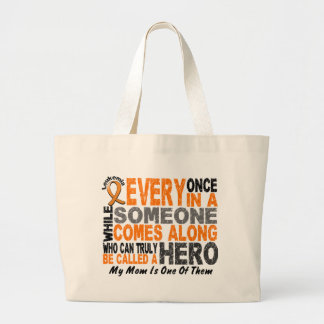 Leukemia HERO COMES ALONG 1 Mom Bags