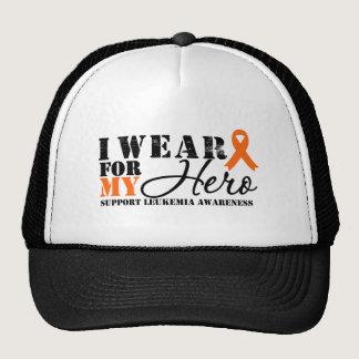 Leukemia Hero Ribbon Trucker Hat