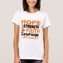 Leukemia HOPE 3 T-Shirt