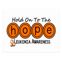 Leukemia HOPE 6 Postcard