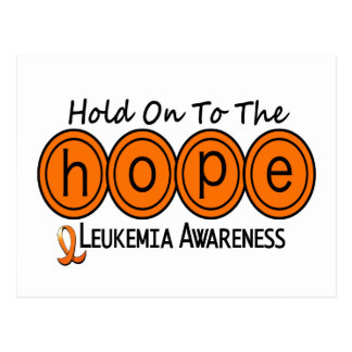 Leukemia HOPE 6 Postcard