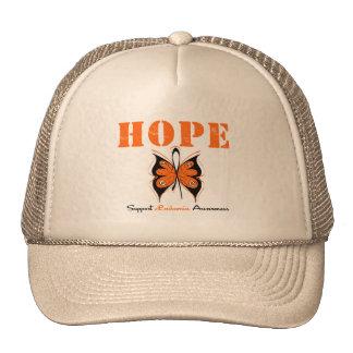 Leukemia Hope Butterfly Trucker Hat