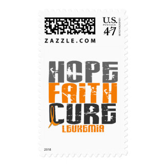 Leukemia HOPE FAITH CURE Postage