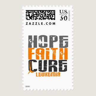 Leukemia HOPE FAITH CURE Postage