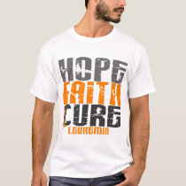 Leukemia HOPE FAITH CURE T-Shirt
