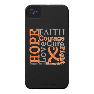 Leukemia Hope Faith Motto Case-Mate iPhone 4 Cases