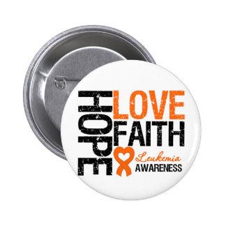 Leukemia Hope Love Faith Pin