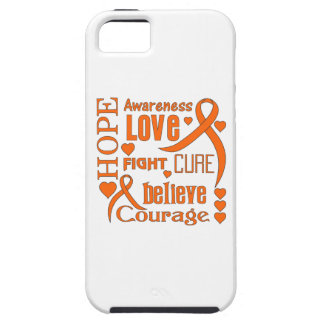 Leukemia Hope Words Collage iPhone 5 Cover