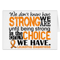 Leukemia How Strong We Are