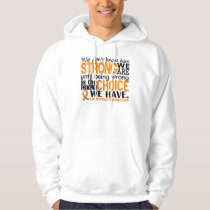 Leukemia How Strong We Are Hoodie