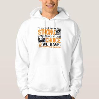 Leukemia How Strong We Are Sweatshirt