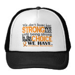 Leukemia How Strong We Are Trucker Hat