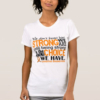 Leukemia How Strong We Are Tank Tops
