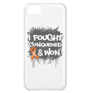 Leukemia I Fought Conquered Won Cover For iPhone 5C