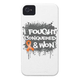 Leukemia I Fought Conquered Won iPhone 4 Covers