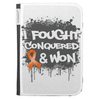 Leukemia I Fought Conquered Won Kindle Covers
