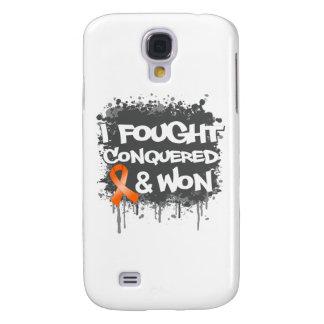 Leukemia I Fought Conquered Won Galaxy S4 Cover