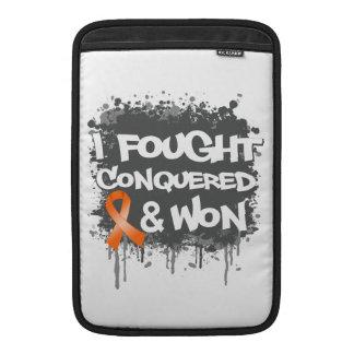Leukemia I Fought Conquered Won MacBook Air Sleeve