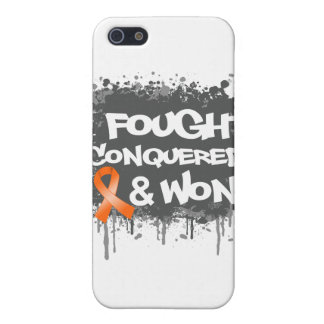 Leukemia I Fought Conquered Won Case For iPhone 5