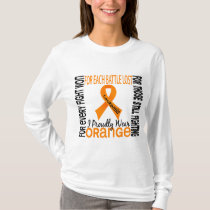 Leukemia I Proudly Wear Orange 2 T-Shirt