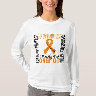 Leukemia I Proudly Wear Orange 2 T-Shirt