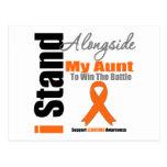 Leukemia I Stand Alongside My Aunt Postcards