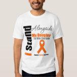 Leukemia I Stand Alongside My Daughter Shirt