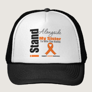 Leukemia I Stand Alongside My Sister Trucker Hat