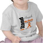 Leukemia I Stand Alongside My Uncle Tshirts
