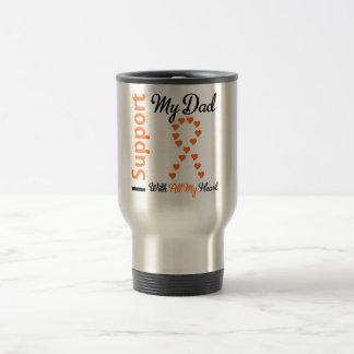 Leukemia I Support My Dad Travel Mug