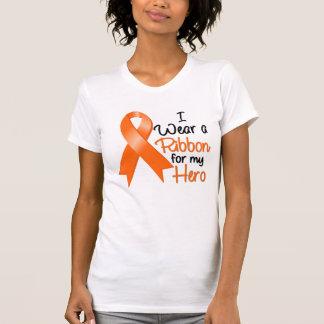 Leukemia I Wear a Ribbon For My Hero Tank Top